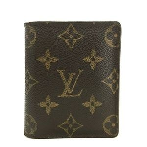 Auth Louis Vuitton Bifold Wallet #1040L70